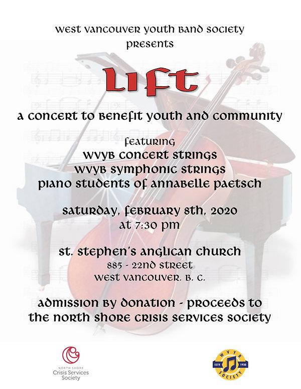 2020-02-08 - WVYB Strings Lift Concert -