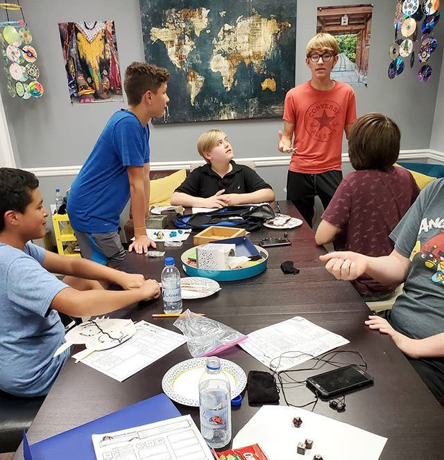 Dungeons & Dragons- one of our favorite