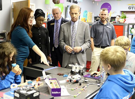 U.S. DOE Back-to-School tour highlights prevention clubhouse in Dawsonville