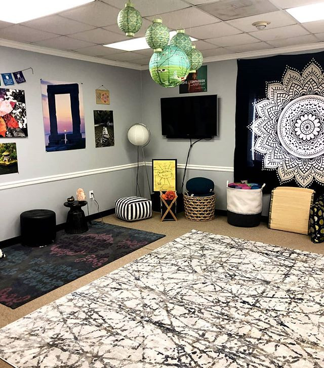 Our #mindful room is our new favorite sp
