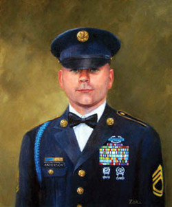 Army SFC Victor A. Anderson