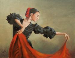 Spanish Dancer by Tim Beacham