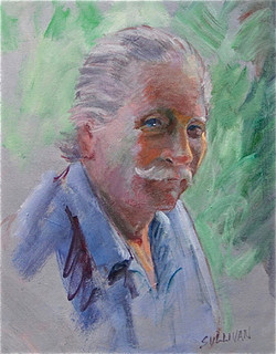 Portrait of a Man by Jerry Sullivan