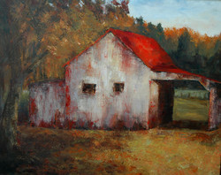 Another Red   Barn.oil.24x30.$1000