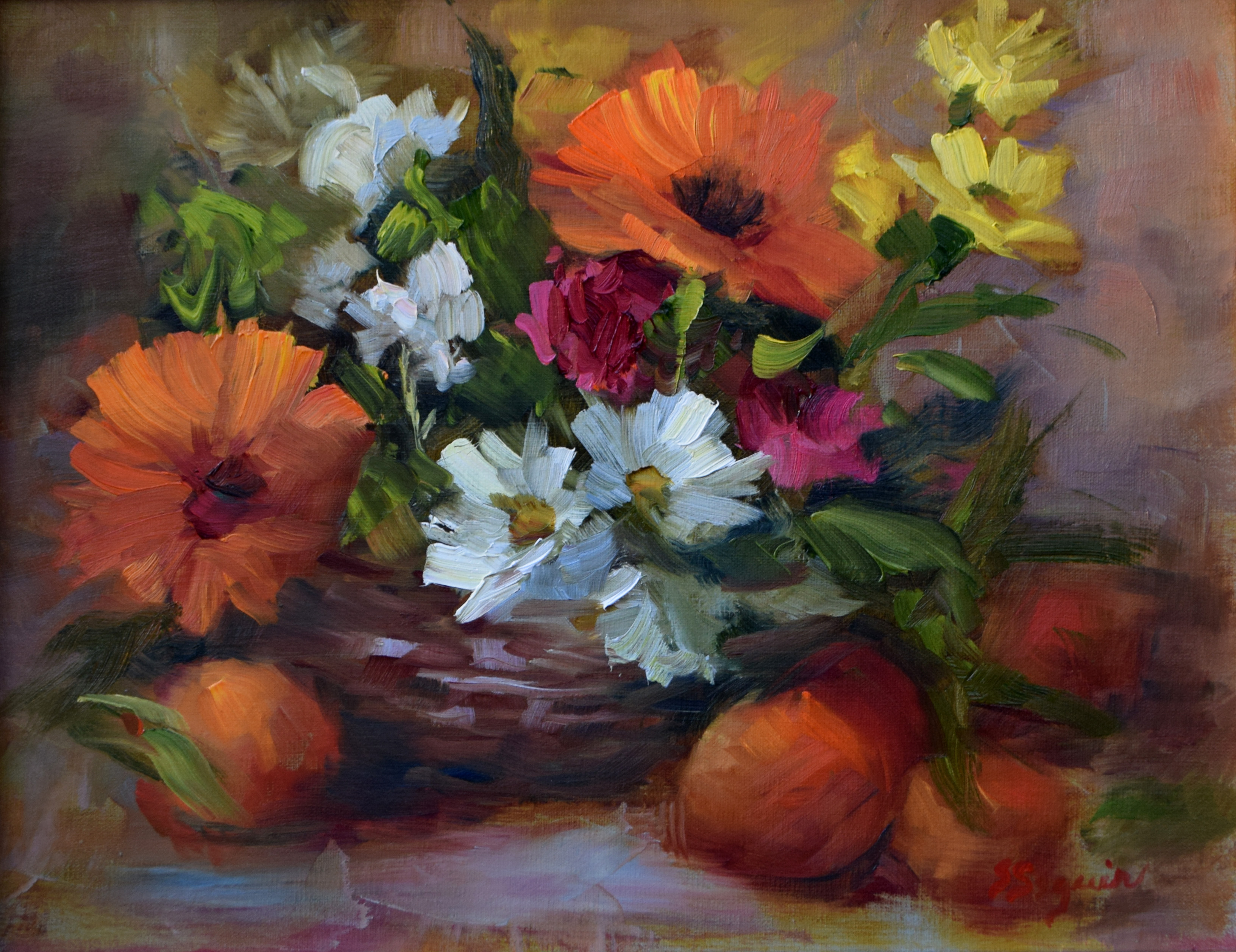 Orange Blossom by Shirley Seguin