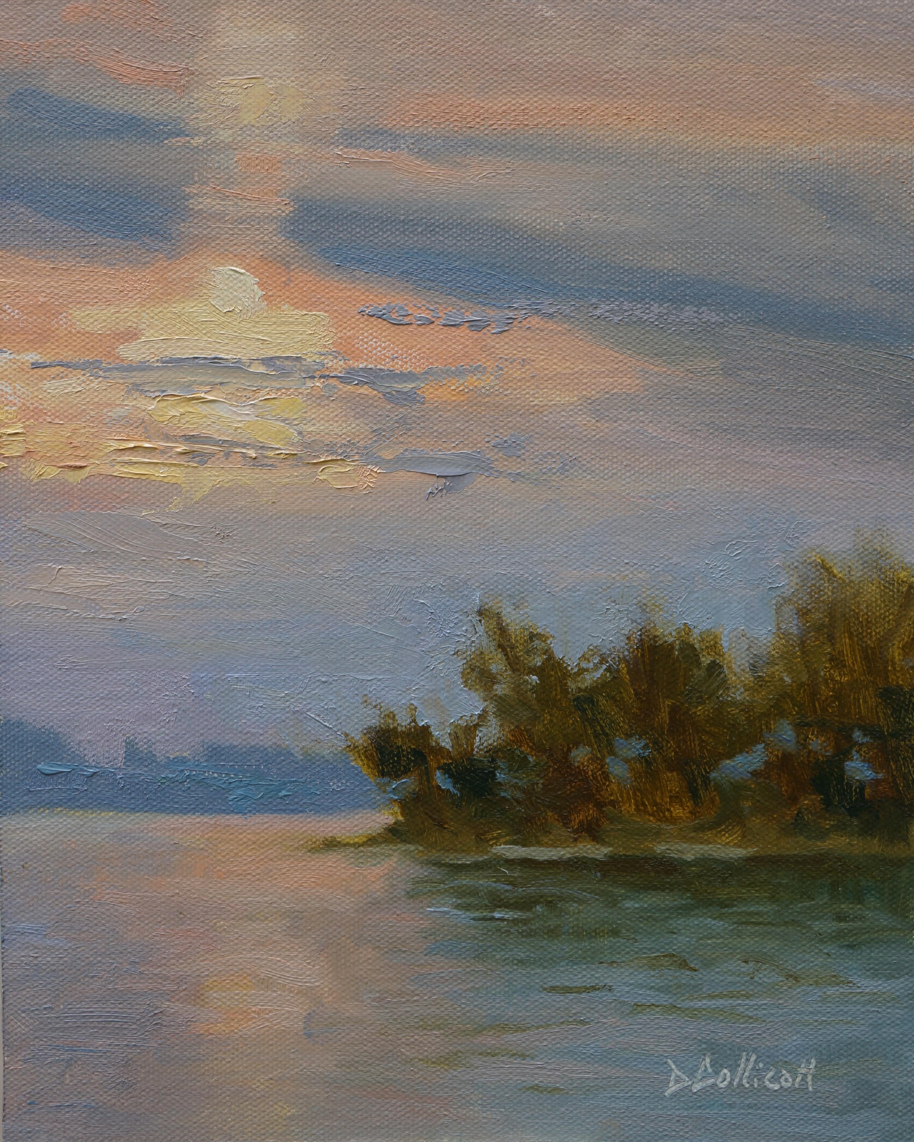 Sunrise over Snake Island 8x10