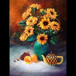 Sunflowers With Fruit-B. Callaham