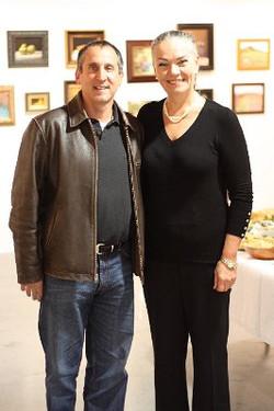 Howard Krinsky and Dominique Marsh