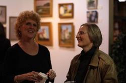 Lynne Brice with a friend