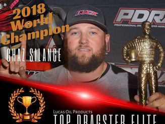 Chaz Silance PDRA Top Dragster Champ