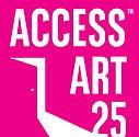 AccessArt25 Logo