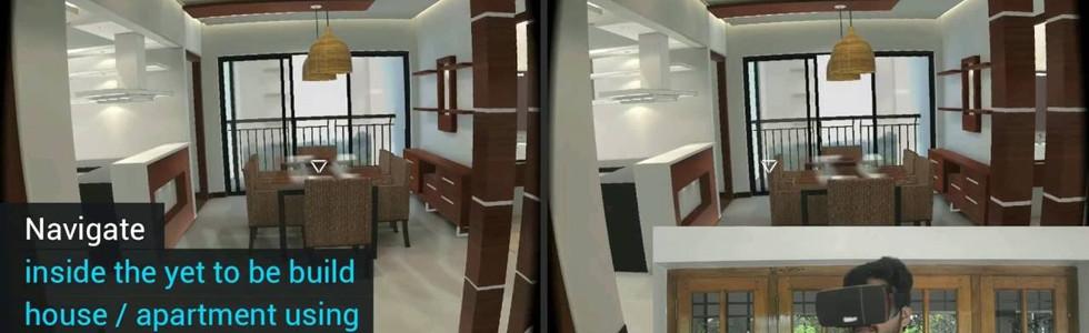 Interactive VR walkthrough