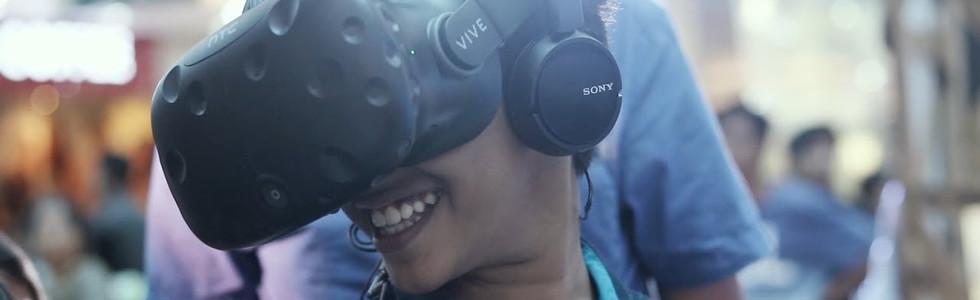 AR/VR vallamkali for south Indian Bank