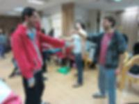 משחקי קורדינצה בסדנת ג'אגינג