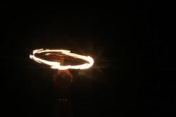 מופע אש של חן מרגלית