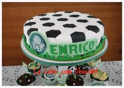 Bolo Bola de Futebol Palmeiras
