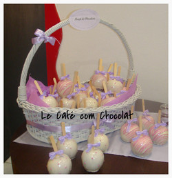 Maçã de Chocolate