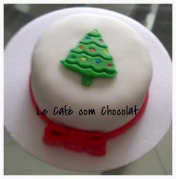 Mini Bolo Árvore de Natal