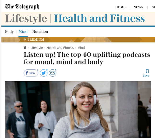 Best sleep podcasts - from the Telegraph