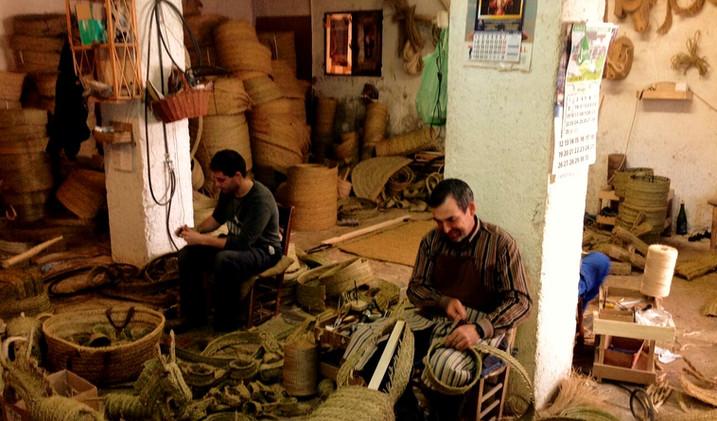 Atelier de Jaen Artesania Fuentes (Andalousie)