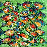 Banc de poisson - Nathalie Louis