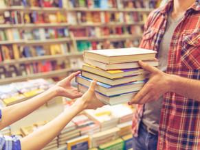 Trueque de libros durante el mes de abril