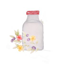 Milk & Flowers