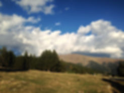 disfrutando de las vistas durante la ruta 4x4