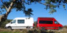 4x4 camper van rentals