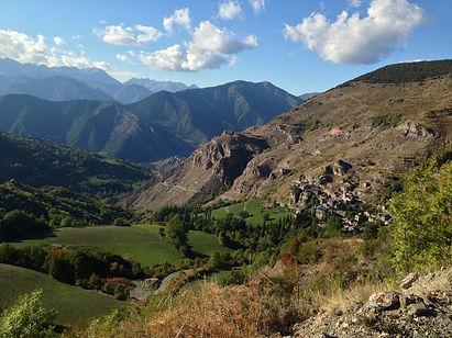 Farrera mountain town