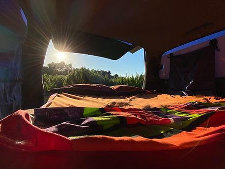 llit interior camper
