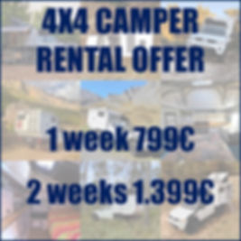 camper rental offer