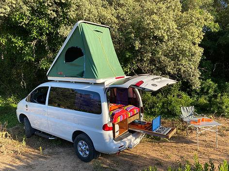 lloguer furgoneta camper Tarragona