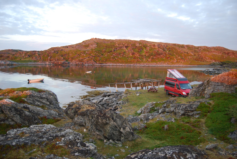 4x4 camper a Noruega