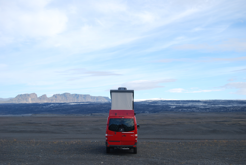 4x4 camper a Islandia