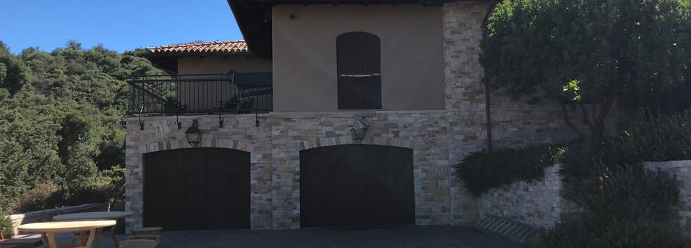 Main house garage done