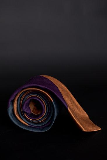Golden Violet Necktie
