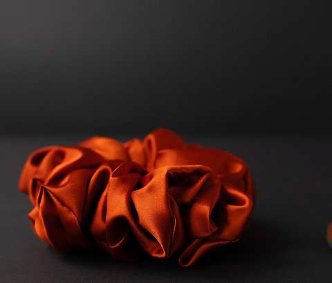 Copper Lite Scrunchie