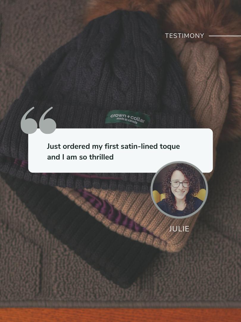Testimonial by Julie