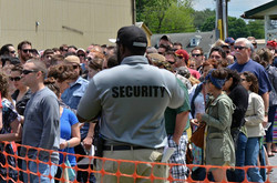 DAI Security in Large Crowd