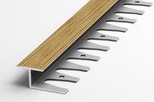 Ламинированный алюминиевый профиль