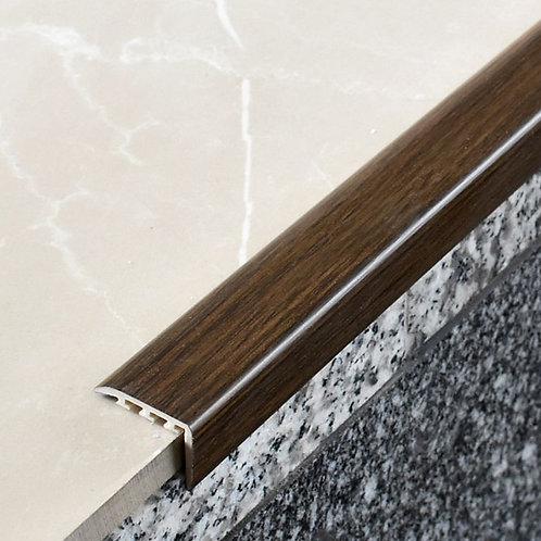 Накладка на ступень ПВХ 25х25,со скрытым крепежом и на клеевой основе