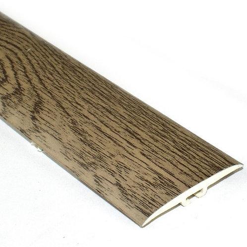 Порог одноуровневый ПВХ,со скрытым крепежом и на клеевой основе, ширина 36мм