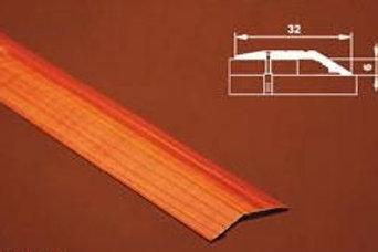 Порог разноуровневый, c отверстиями,  с перепадом до 10мм