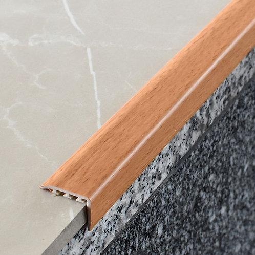 Накладка на ступень ПВХ 30х14,со скрытым крепежом и на клеевой основе