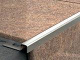 Профиль из нержавеющей стали для отделки внешних углов, полиров.
