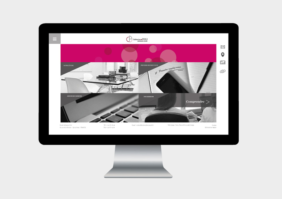 CONCEPTION D'UN SITE WEB AVEC VERSION TABLETTE & MOBILE