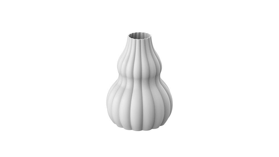 Convex Double Meringue Vase