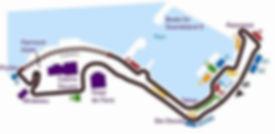 Monaco F1 Grand Prix Track