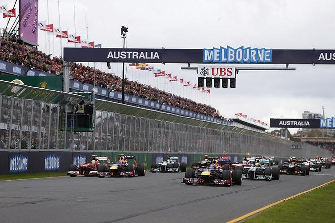 On the Grid - Austalian Formula 1 Grand Prix
